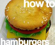 howto hamburger cupcakes trakatie