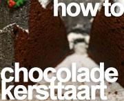 howto kerst chocoladetaart