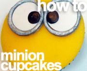 howto minion cupcakes