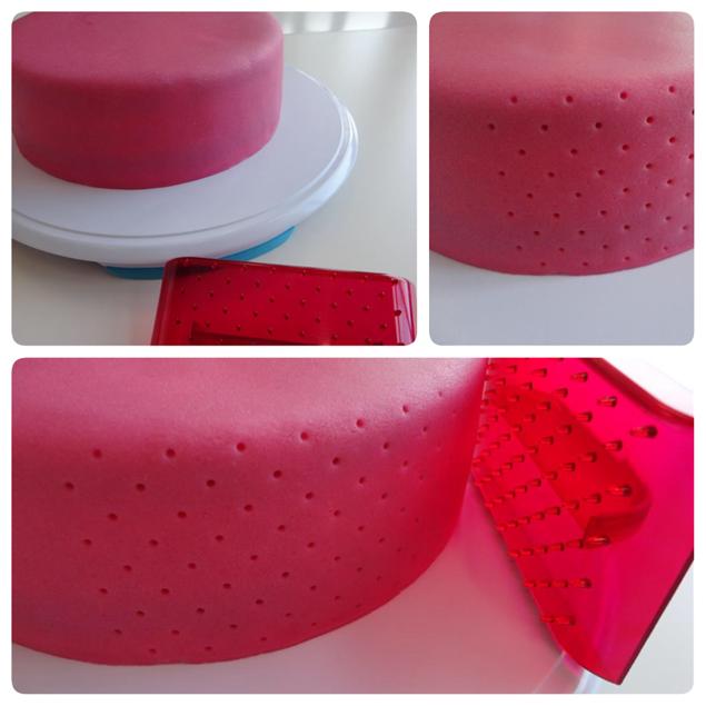 Versier de rand van je rand met press ice - Hoe om kleuren te maken ...
