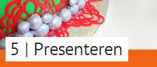 Stap 5: Presenteren